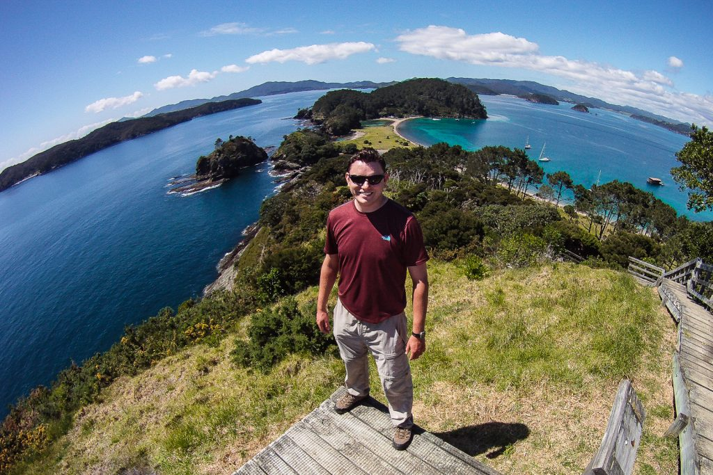 Bay of Islands Viewpoint. best places to visit in New Zealand. New Zealand travel blog