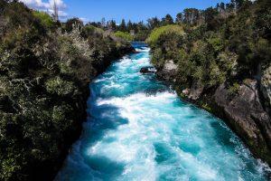 Huka Falls, Lake Taupo, planning a trip to New Zealand