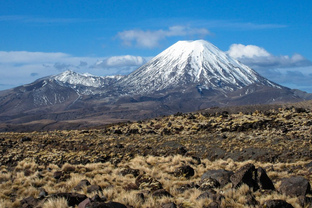 Mount Ngauruhoe, North Island ski fields. New Zealand travel blog