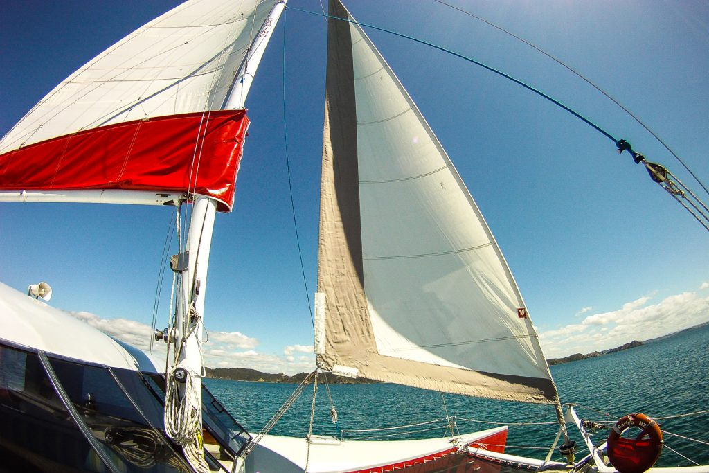 Sailing around Bay of Islands. New Zealand travel blog. things to do in New Zealand