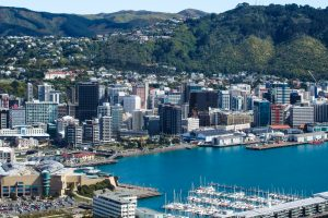 Wellington Skyline, best city to visit in new zealand