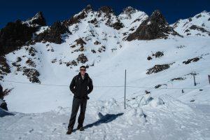 Mark at Whakapapa Ski Area, ski resorts New Zealand