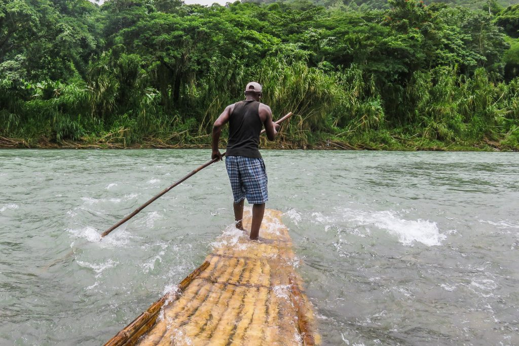 Rio Grande River Jamaica river rafting bamboo rating. Jamaica travel tips.
