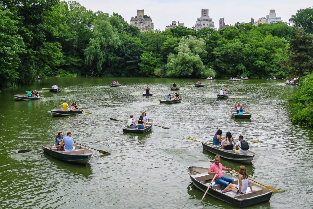 Rowing in central park things to do in nyc and a central park tours
