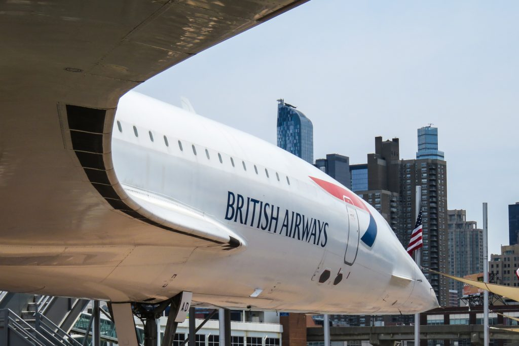 Concorde at Intrepid Museum, things to do in new york