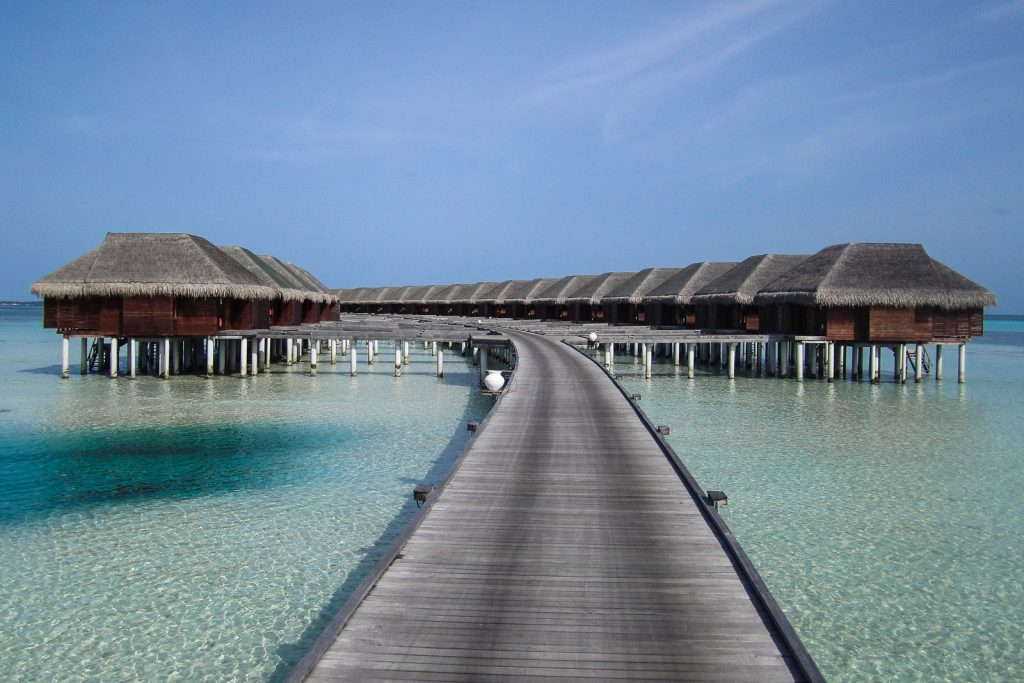 Luxury at the Water Villas on Dhidhoofinolhu LUX maldives resort. Spend your holiday on your own private ocean water bungalow.