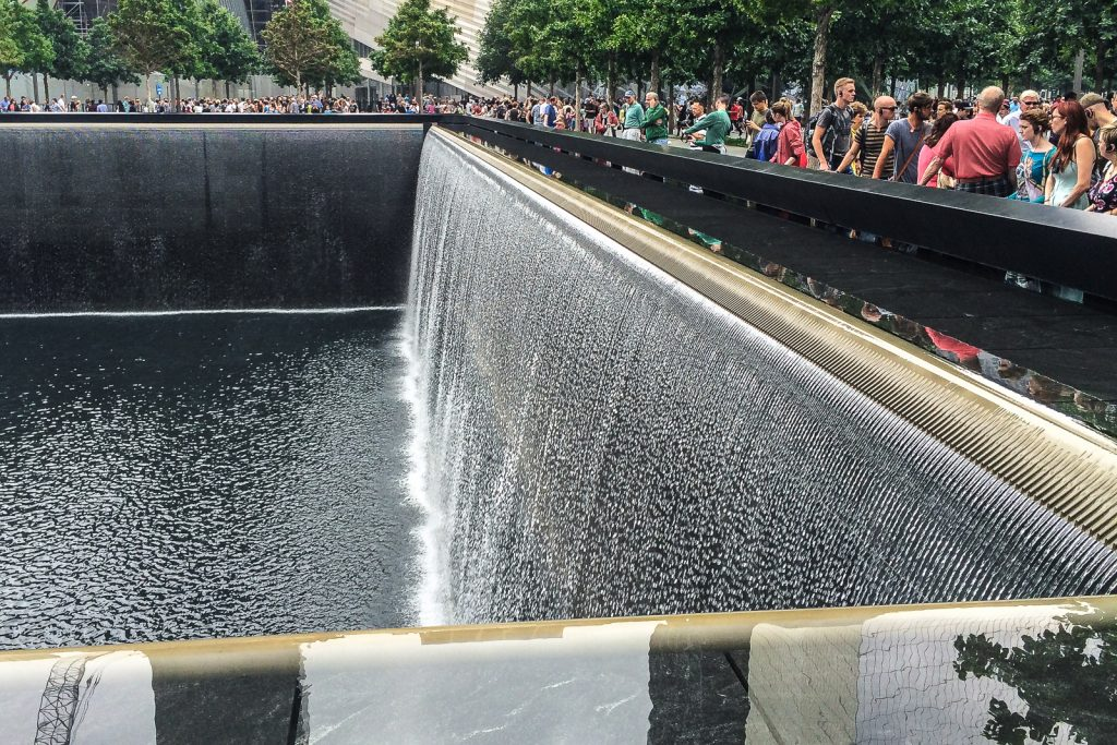 World Trade Centre Memorial in New York City is one of the places to visit in new york