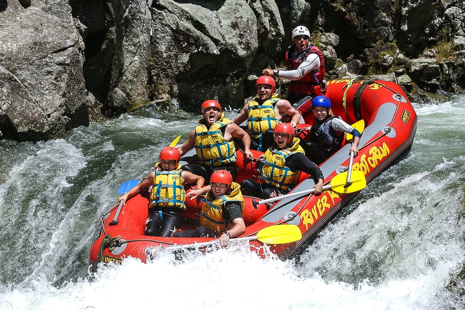 Whitewater Rafting New Zeland