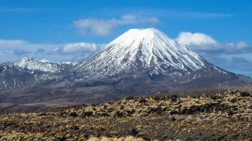 Mount Ngauruhoe, North Island ski fields