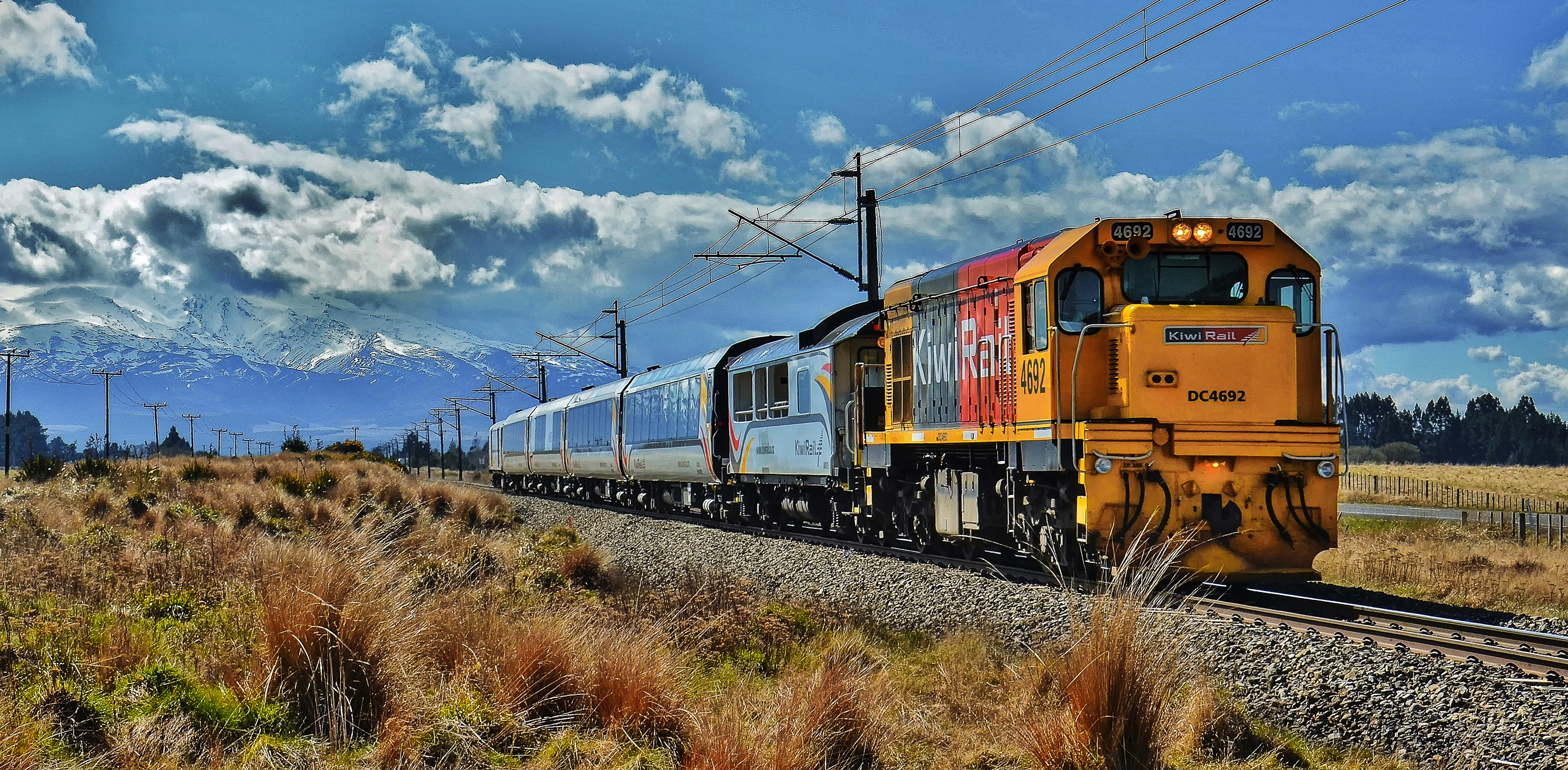 Auckland New Zealand Train Travel