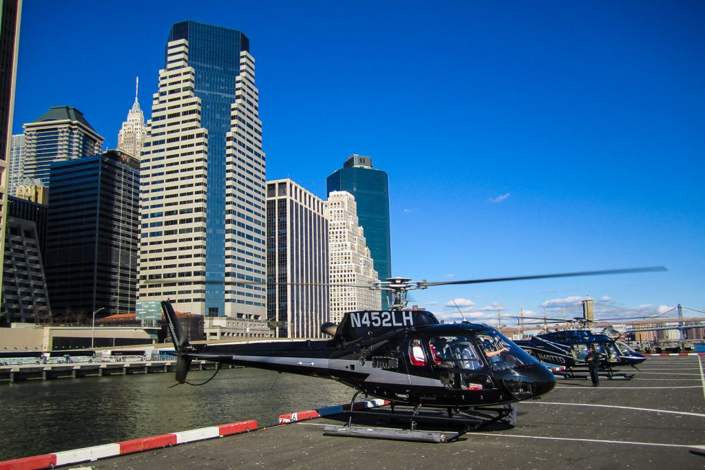 Liberty Island Tour Helicopter