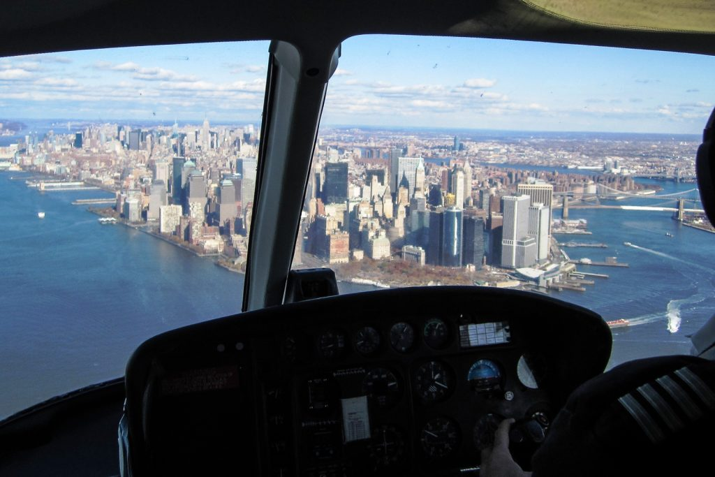 Helicopter Tour Of New York City Skyline  Flying And Travel