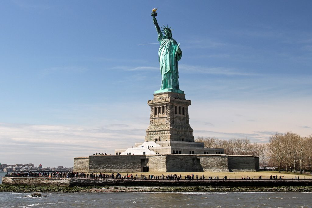 Things to do in NYC visit Liberty island and the statue of liberty