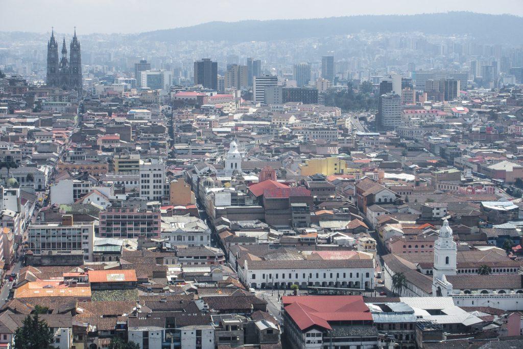 Quito Skyline city views in Ecuador. Top things to do in Quito Ecuador