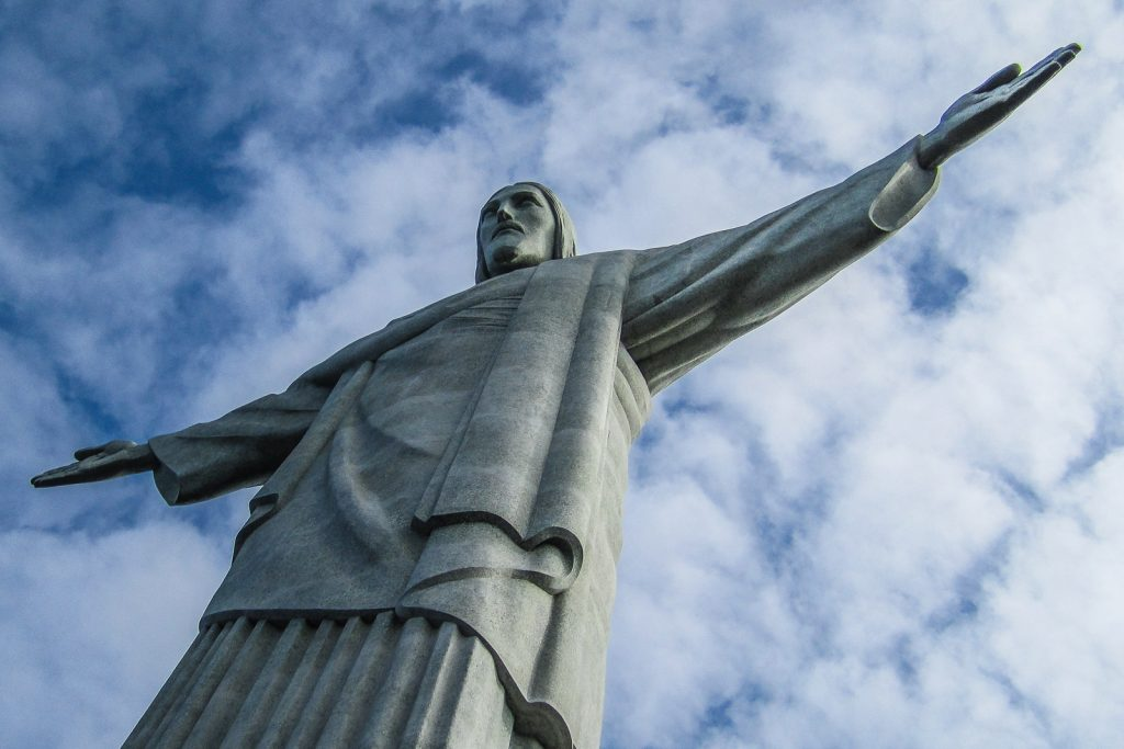 Christ the Redeemer Rio de Janeiro, Brazil. The top Rio Landmark, Corcovado is one of the top things to do in rio de janeiro.