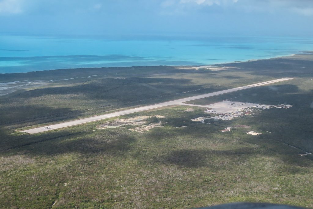 Flights to exuma bahamas, George Town airport on Exuma