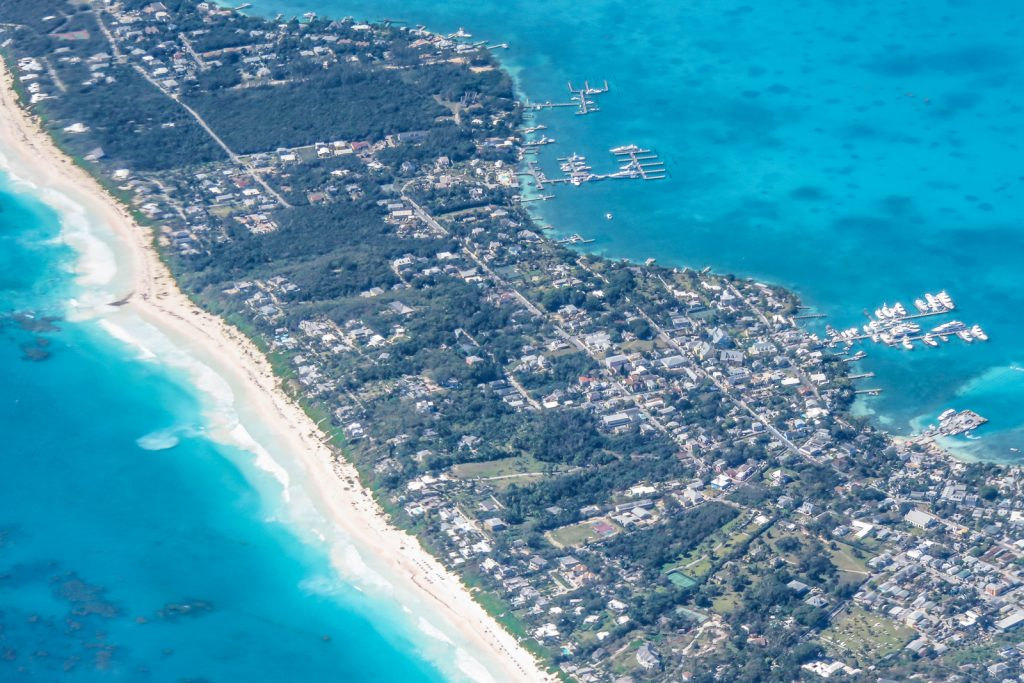 Flights to North Eleuthra from Florida, Fort Lauderdale and Miami with Bahamas Air Tours. North Eleuthra flights land at the North Eleuthra airport which is a short boat ride away from Harbour ISland Bahamas and dunmore town with the famous Pink Sands Beach