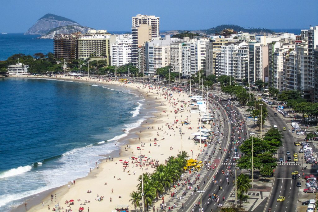Copacabana Beach in Rio do Janeiro Brazil, top things to do in rio de janeiro and one of our top place to visit in rio de janeiro