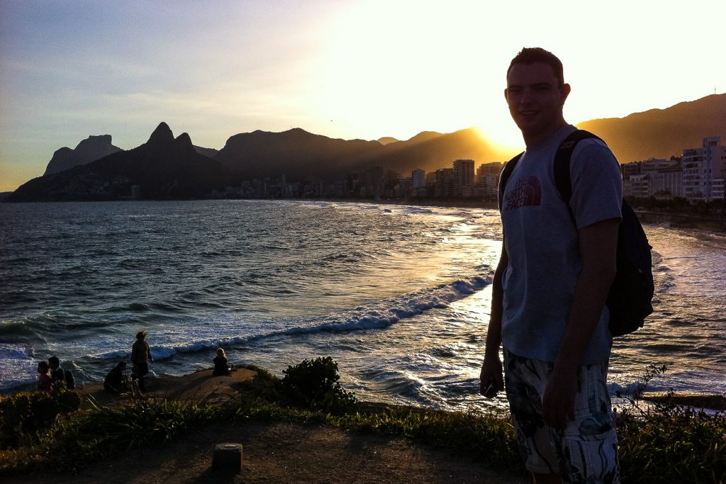 Places to visit in Rio de Janeiro: Ipanema Beach and Leblon.