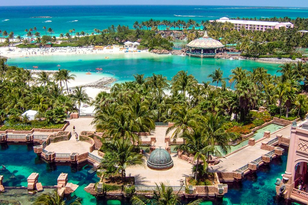 Things to do in Nassau Bahamas: Atlantis resort and water park. ©Bahamas Ministry Of Tourism