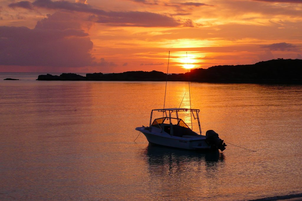 Sunset in Cat island Fernandez Bay, ©Bahamas Ministry Of Tourism