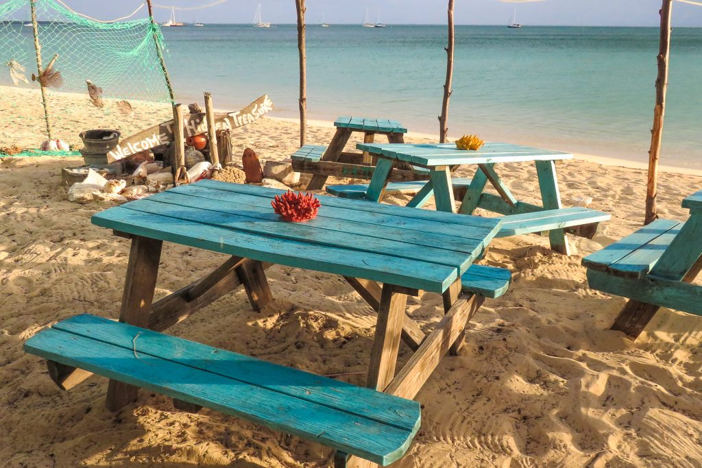 Cat Island Bahamas cultural village, dining at the Hidden Treasure in New Bight