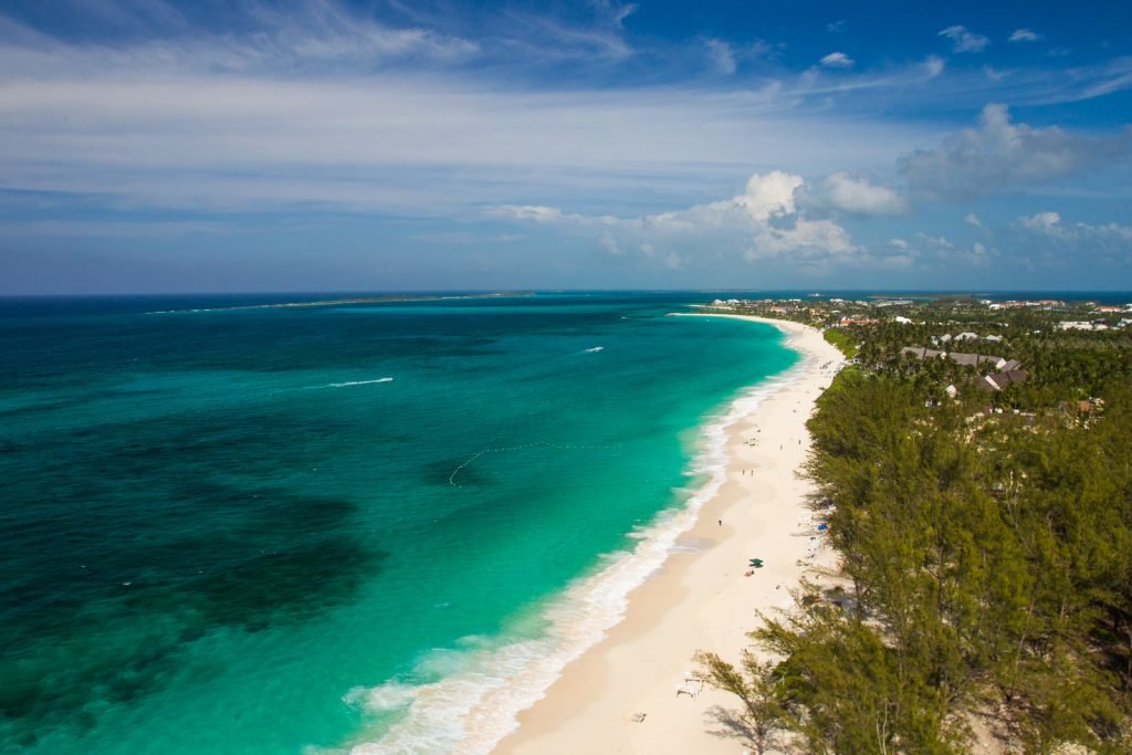 Cabbage beach bahamas