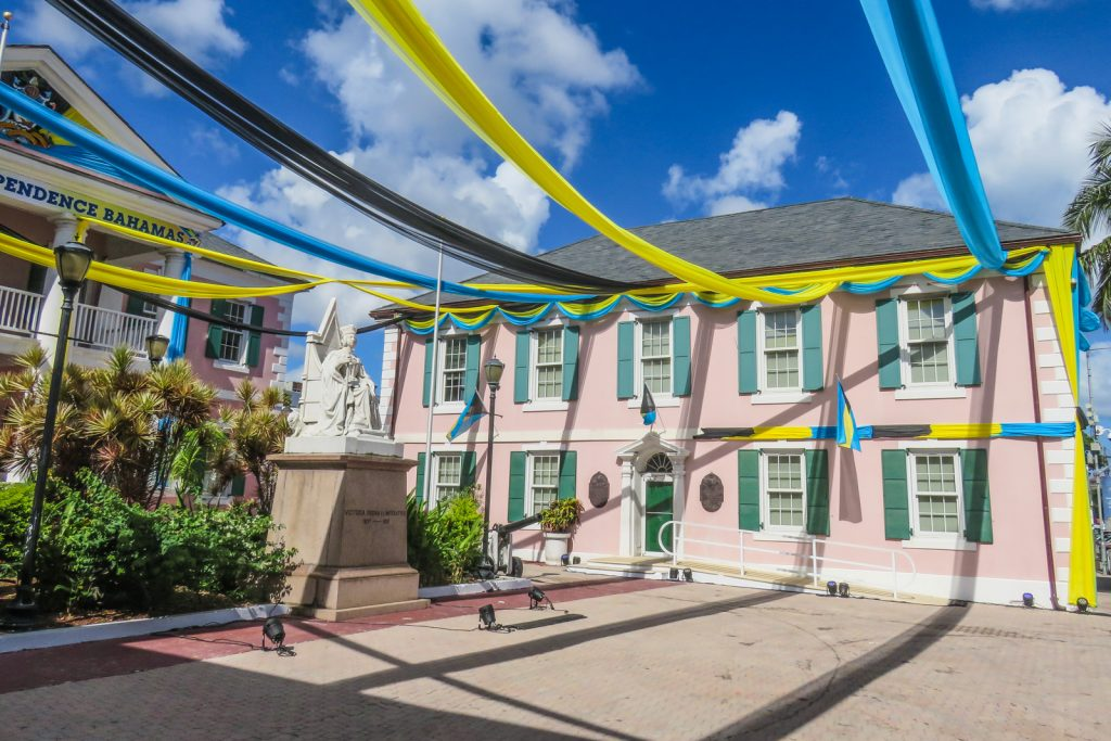 Things to do in Nassau Bahamas, Parliament Square