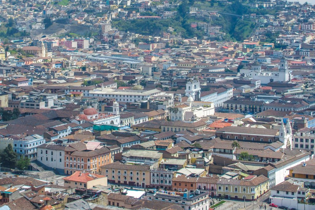 Quito Skyline city views in Ecuador. Top things to do in Quito Ecuador