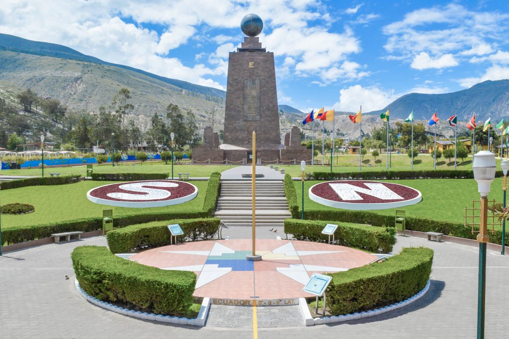Things to do in Quito Ecuador; Visit the Mitad Del Mudno, once claimed to be the crossing point of the Equator in Ecuador's capital city Quito.