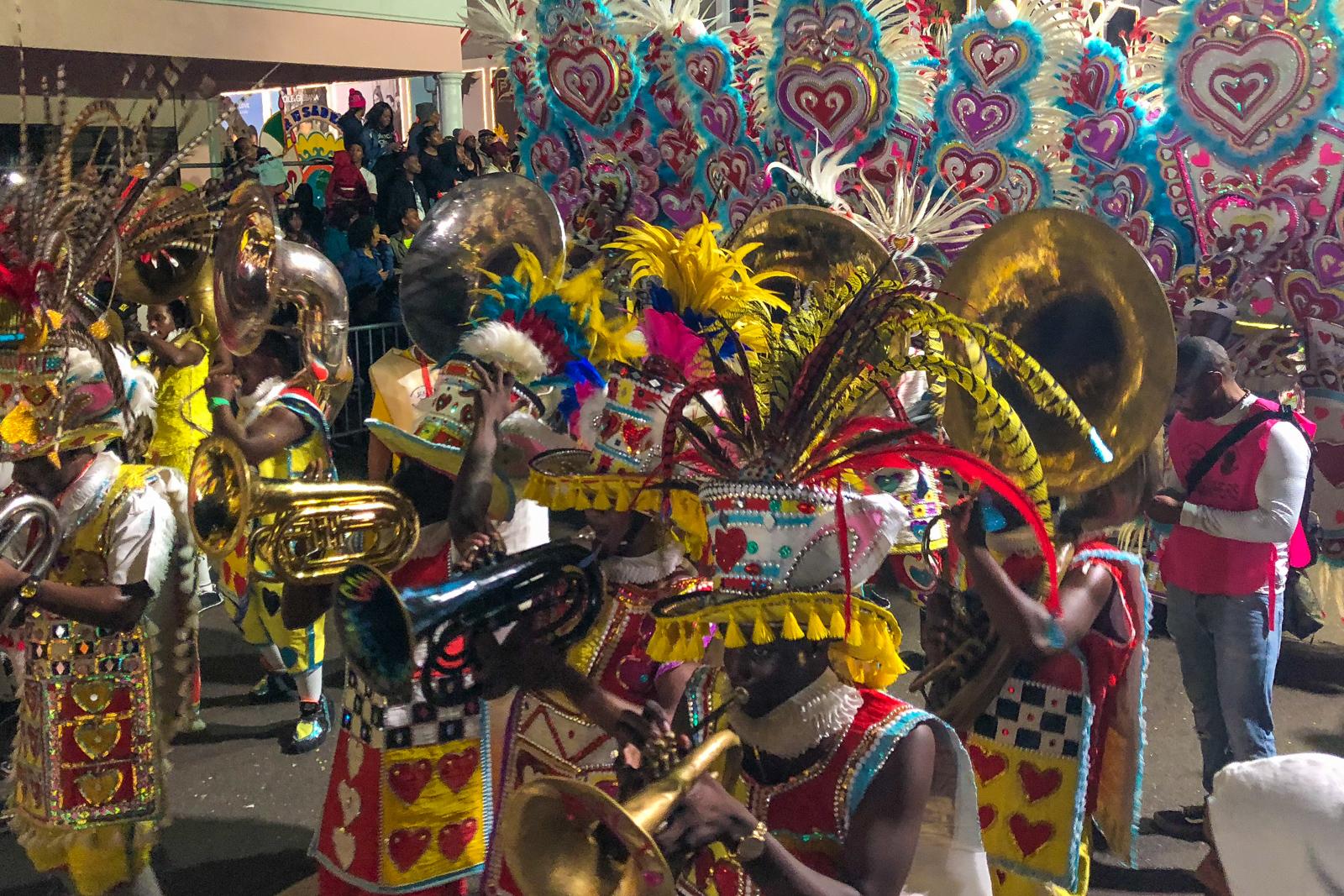 Things to do in Nassau Bahamas at the Junkanoo Festival in Nassau New Providence island