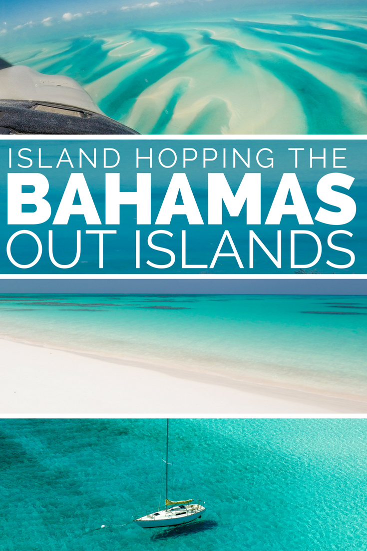 bahamas island hopping - flying and travel