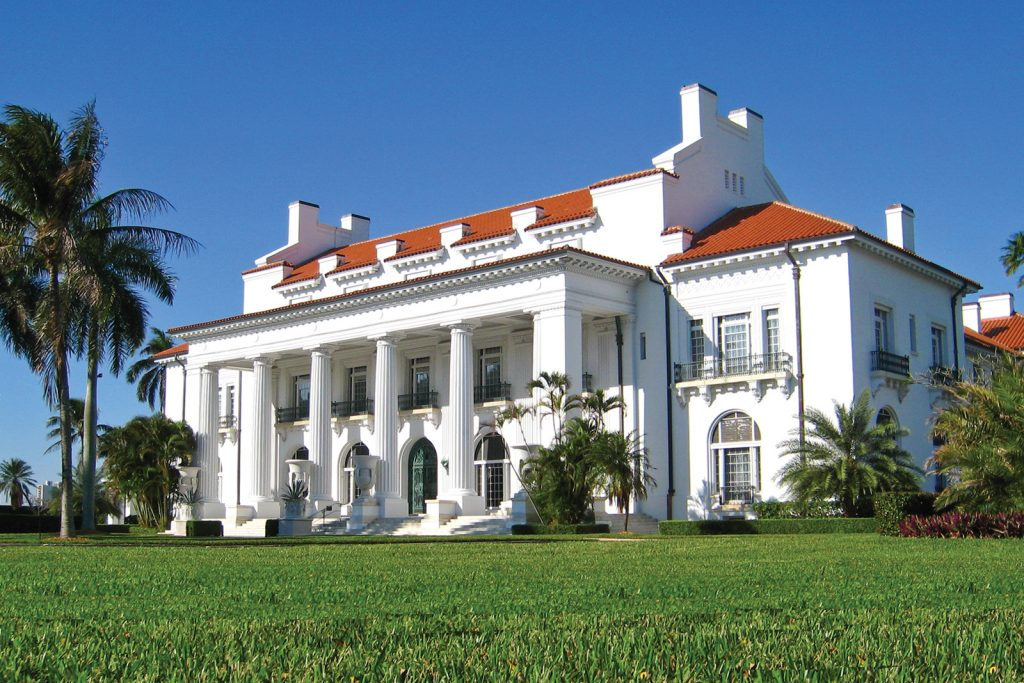 Flagler Museum, things to do in West Palm Beach Florida. Henry Flagler lived here in palm Beach Island Florida. © Flagler Museum