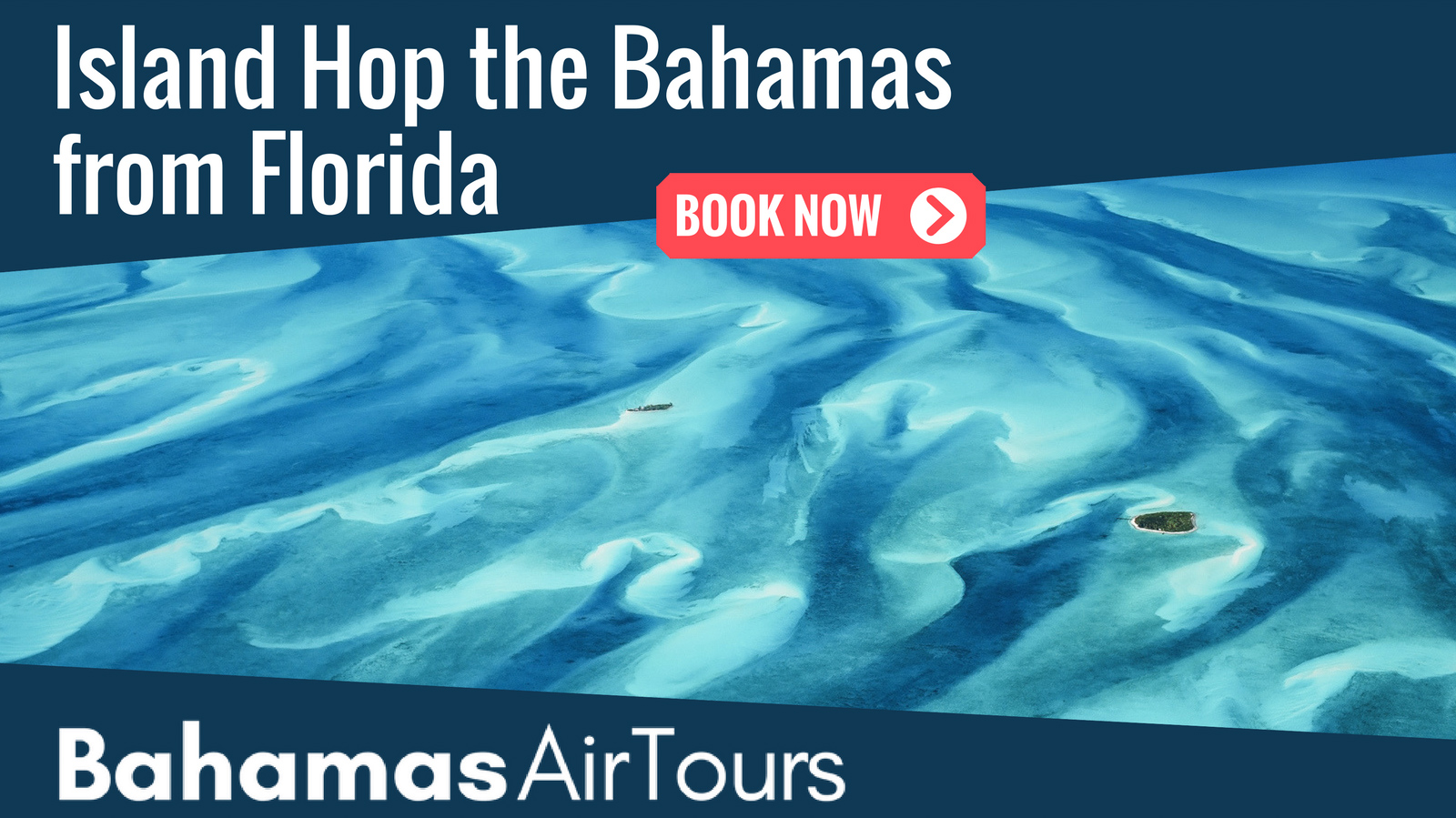 Flights to Bahamas with Bahamas Air Tours, flightseeing the Schooner Cays