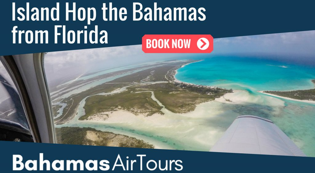 Flights to Bahamas, Private Bahamas Air Charter, Island Hopping Tours and Day Trips to Bahamas from Florida.