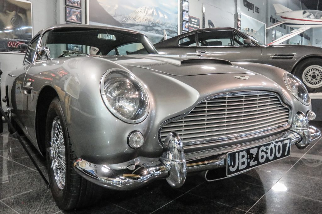 Things to do in Miami, the Deezer Collection Miami Auto Museum, James Bond car car collection is one of the best 007 cars and James Bond car collections in the World. 007 James Bond Aston Martin