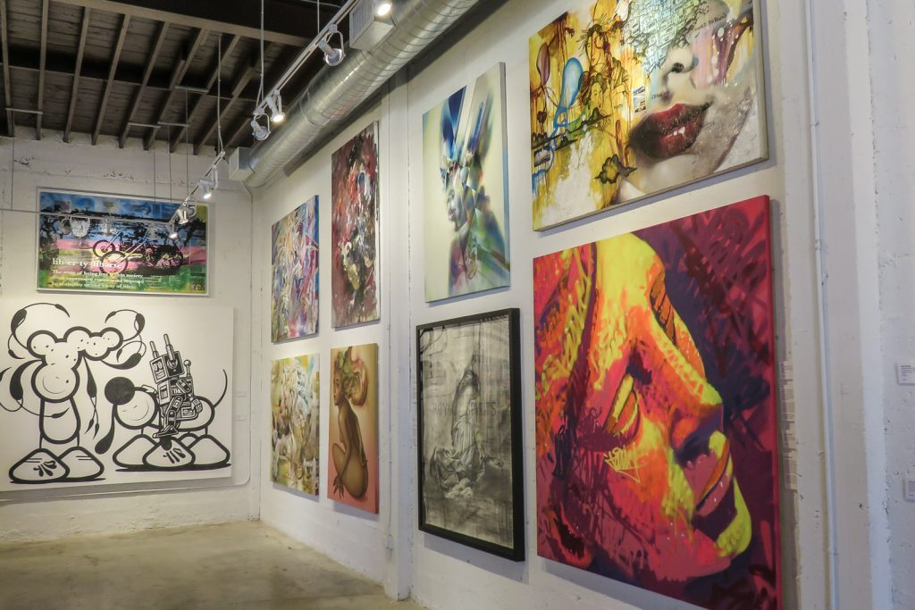 Goldman Global Arts Gallery Wynwood Miami. Things to do in Miami. The Wynwood Art Walk in the wynwood walls and wynwood art district. Visit the outdoor murals and wynwood graffiti in Miami art district