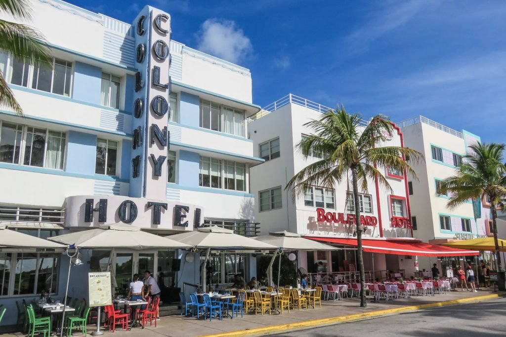 South Beach Tour things to do in Miami Beach. Ocean Drive, South Beach Art Deco district