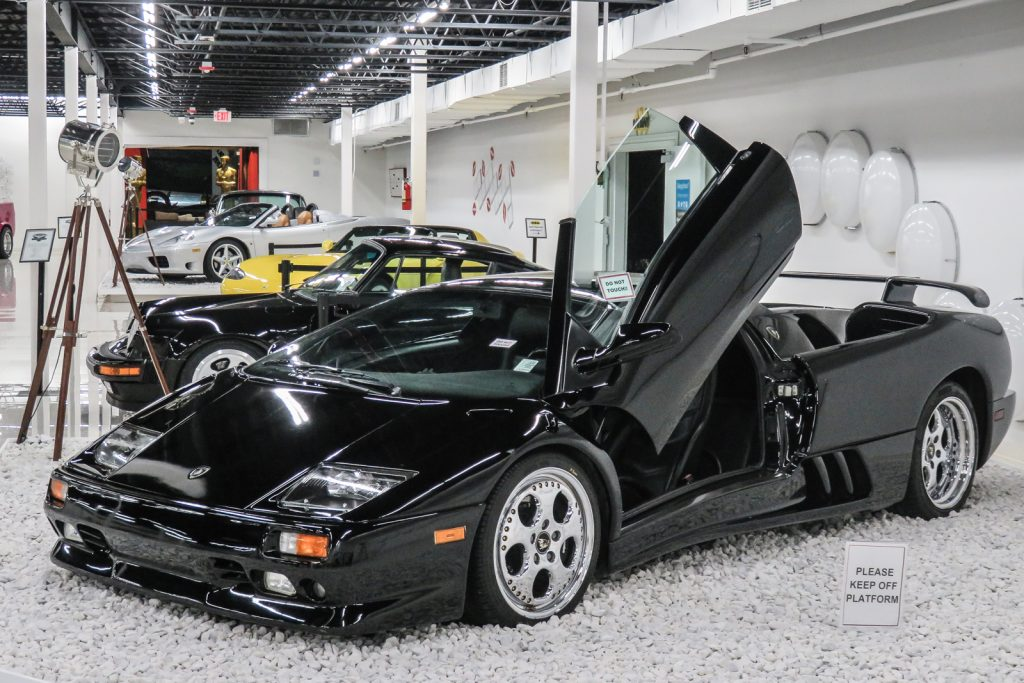 Things to do in Miami. The Miami Auto Museum car collection with supercars, ferrari, bentley, porsche and the world's best collection of James Bond cars and 007 james bond gadgets.