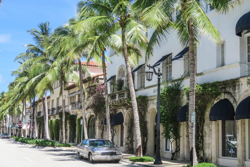 Things to do in West Palm Beach; Walk along Worth Avenue with all it's boutique and luxury shops.