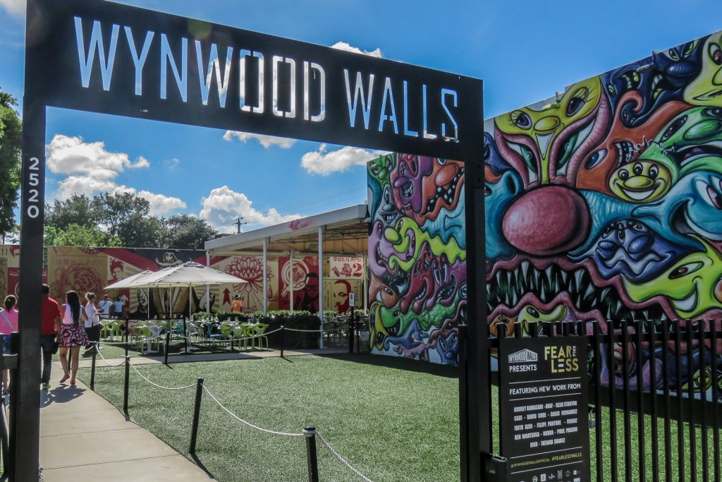 The Wynwood Art Walk in the wynwood walls and wynwood art district. Visit the outdoor murals and wynwood graffiti in Miami art district. Things to do in Miami