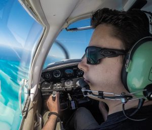 Flying and Travel around the World with a Pilot.