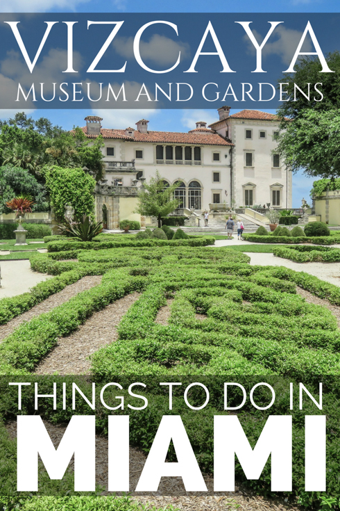 Vizcaya Museum and Gardens Miami - Flying and Travel