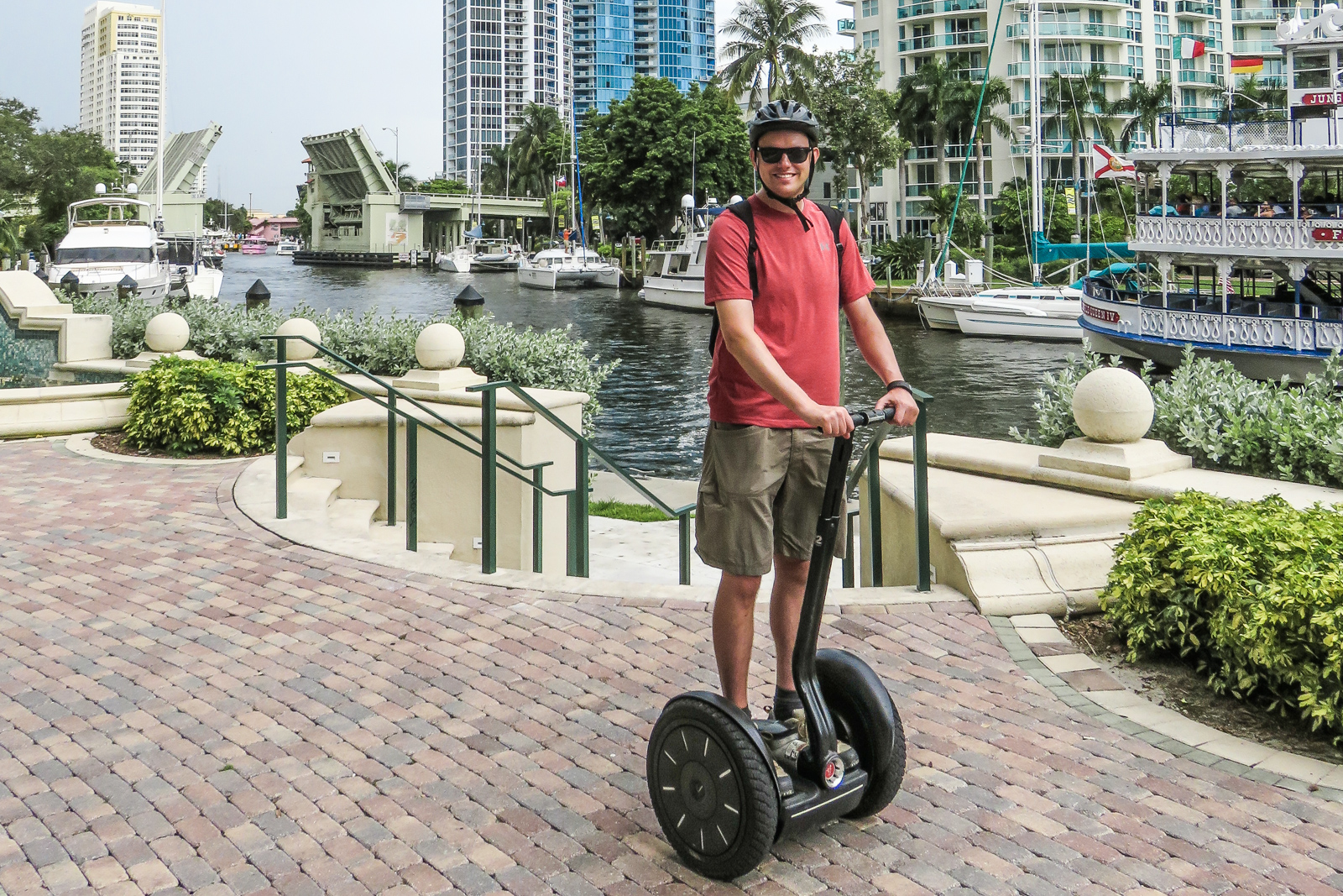Top things to do in Fort Lauderdale: Segway tour of the Fort Lauderdale tour Riverwalk and Las Olas boulevard.