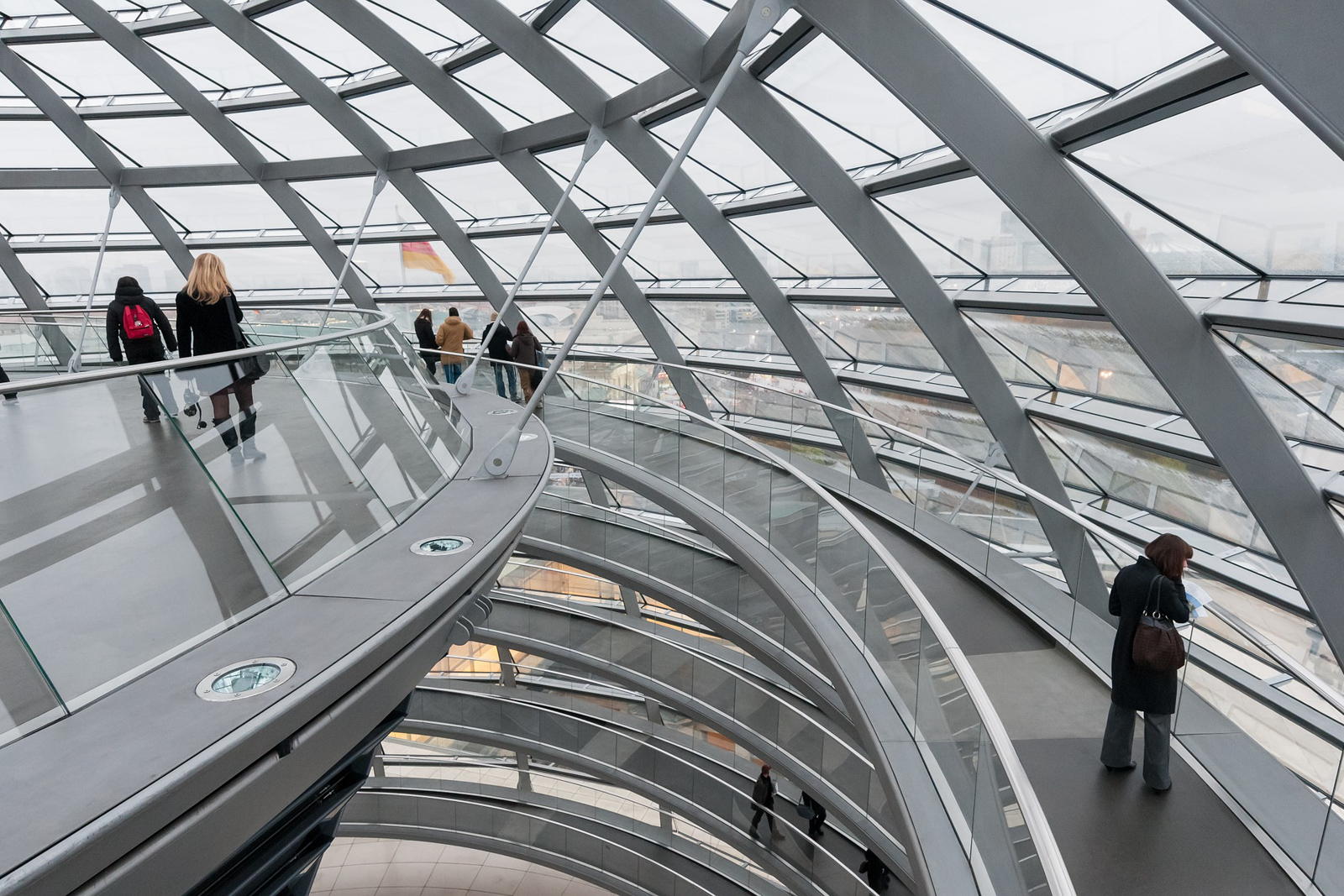 Top ten things to do in Berlin to see the Berlin Germany attractions in the reichstag building