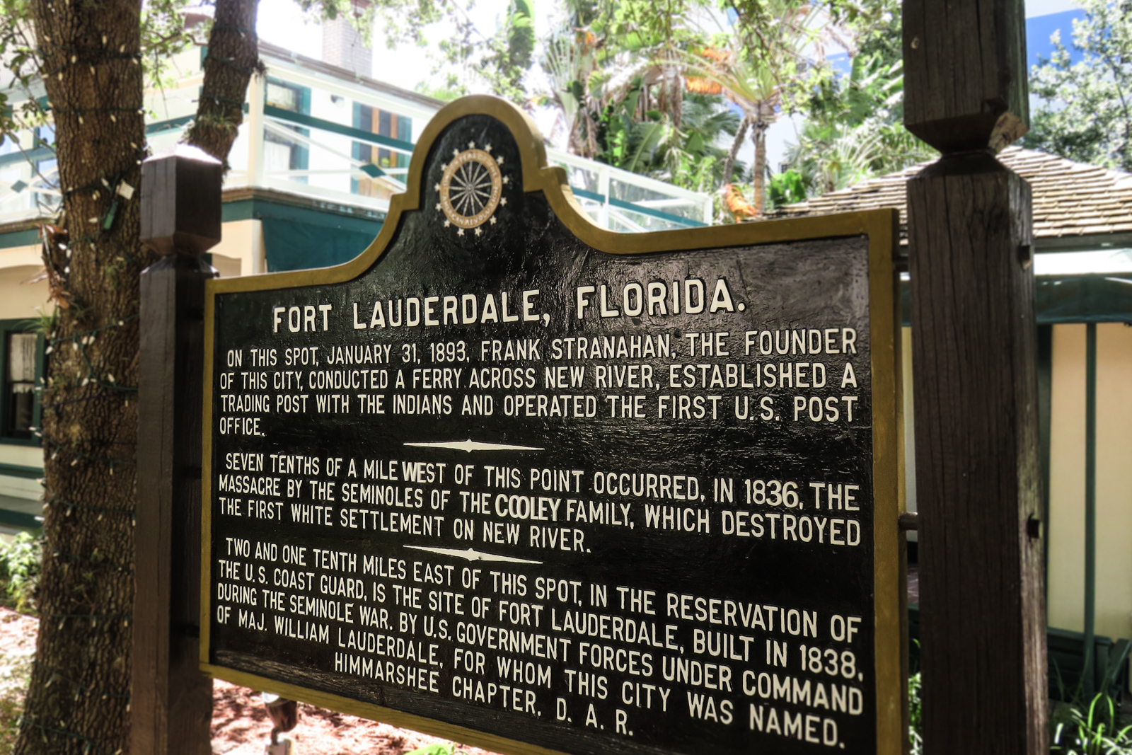 Top things to do in Fort Lauderdale Stranahan House, the original village of Fort Lauderdale. Originally the trading post and post office for Fort Lauderdale village. One of the top Fort Lauderdale attractions.