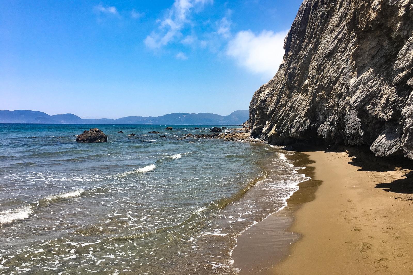 Zante Greece Kalamaki Beach Turtle Island How to Get to Navagio Beach