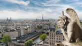 Top ten things to do in Paris Travel Tips ane the ultimate Paris Travel guide. Gargoyle and wide city view from the roof of Notre Dame de Paris, France