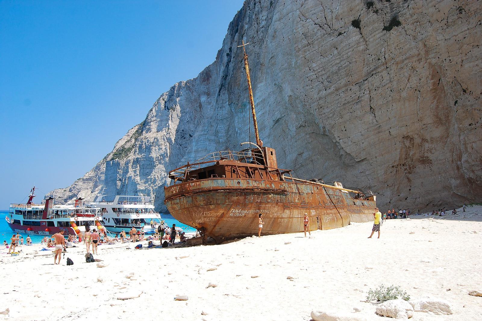 Zakynthos Greece Shipwreck Island Greece Zakynthos Car rental