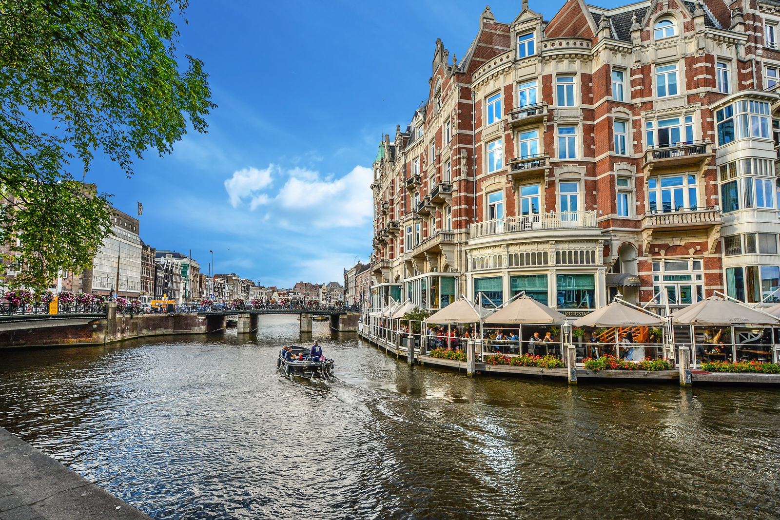 Places to visit in Amsterdam Old Town like the Amsterdam Christmas Market and other Amsterdam tourist attractions on an Amsterdam walking tour.